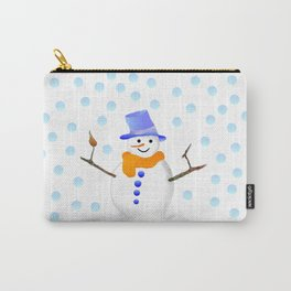 Snowman 01 Carry-All Pouch