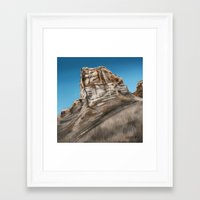 utah Framed Art Prints featuring Utah by Liz Masters