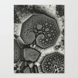 Treeface Canvas Print