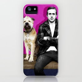 Ryan Gosling and friend iPhone Case