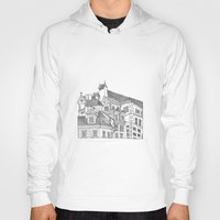 poland Hoodies featuring Old Town (Stare Miasto) - Warsaw, Poland by fpapagni