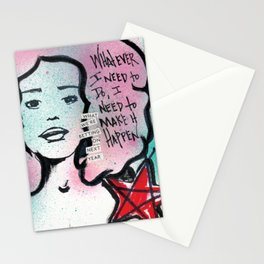 I Need to Make It Happen Stationery Cards