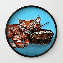 Kitty Cakes - Fur Sweets Series Wall Clock