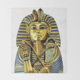 Yung Pharaoh Throw Blanket