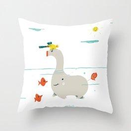 Mousaillon Throw Pillow