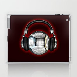 Headphone disco ball Laptop & iPad Skin