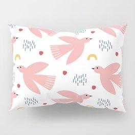 Flying Bird Pattern Pillow Sham