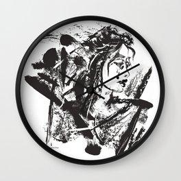 Lost Warrior Wall Clock