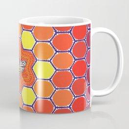 Bee Sacred Geometry Coffee Mug