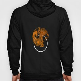 Collusion - Abstract in black, gold and white Hoody