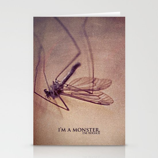 I'm.a.Monster. Stationery Cards
