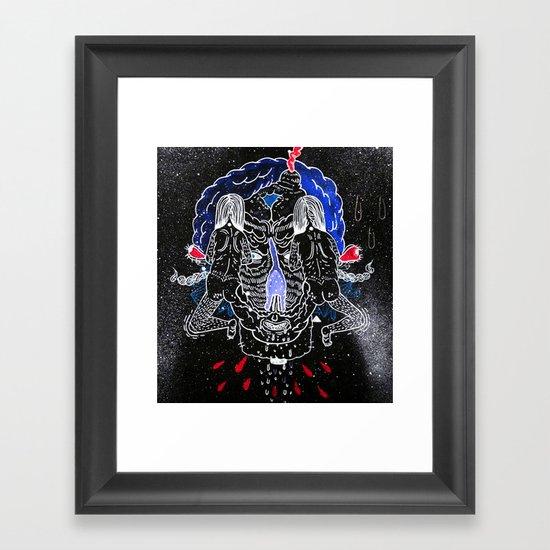 viki 200 Framed Art Print