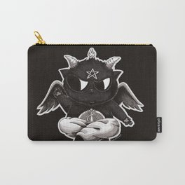 Black Cathomet Carry-All Pouch