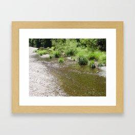 River Scene Framed Art Print