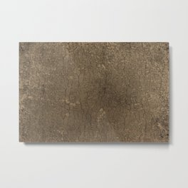 Rustic Tree Bark Pattern Metal Print