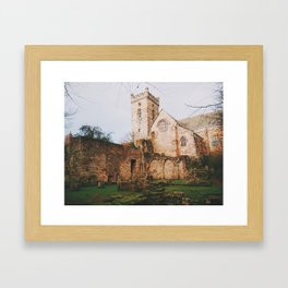 Culross Abbey II Framed Art Print