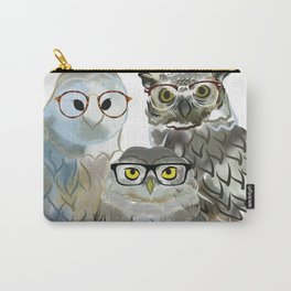 Smart as an Owl Carry-All Pouch