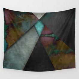 """Grunge metal pattern"" Wall Tapestry"
