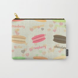Love Macaroons Carry-All Pouch