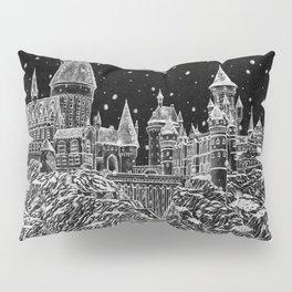 Holiday at Hogwart Pillow Sham