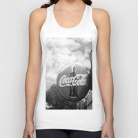 coca cola Tank Tops featuring Coca Cola  by Chris' Landscape Images & Designs