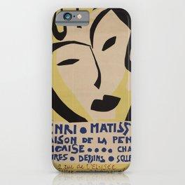 Maison de la Pensée Française by Henri Matisse iPhone Case