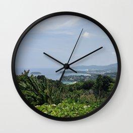 Karon Lookout Point Wall Clock