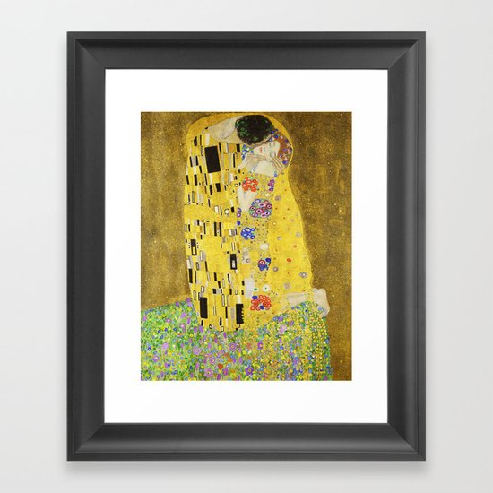 The Kiss - Gustav Klimt, 1907 by fineearthprints