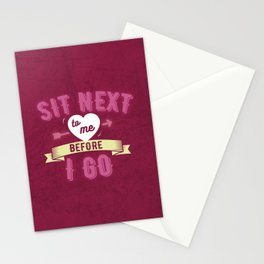 suck it and see (hot pink) Stationery Cards