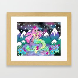 Mystic Mermaid Framed Art Print