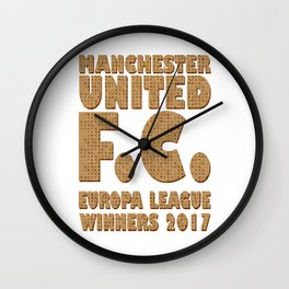 Scrabble Manchester United Wall Clock