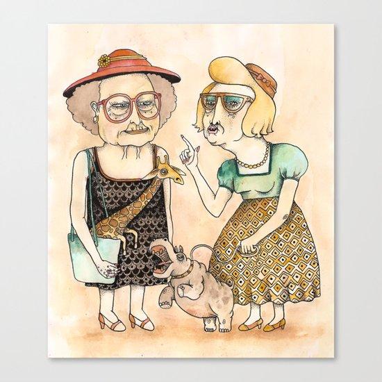 Ladies Canvas Print