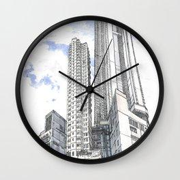 Hong Kong continuity of towers Wall Clock