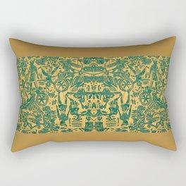 Green Works Rectangular Pillow