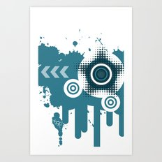 Vector iPhone case Art Print
