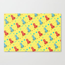 Robot With Too Many Legs Canvas Print