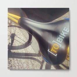 to_bike Metal Print