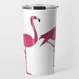 Felicty the flamingo Travel Mug