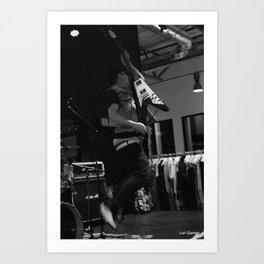 The Derelicts    KEXP Seattle 2017 Art Print