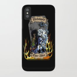 Unhappily Ever After - Lady Death & Evil Ernie iPhone Case