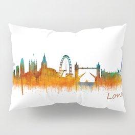 London City Skyline HQ v3 Pillow Sham