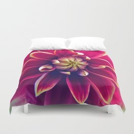 Happy Dahlia Duvet Cover
