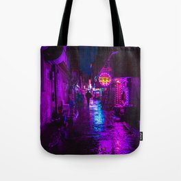 Shadowy Alley Tote Bag