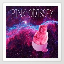 PINK ODISSEY Art Print