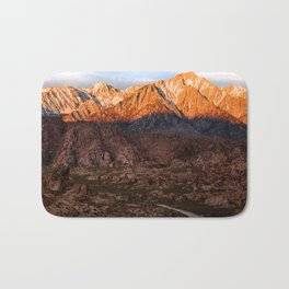 Mount Whitney & Alabama Hills, California Bath Mat