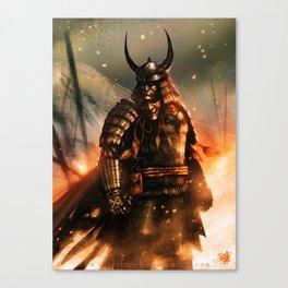 THE DARK KNIGHT OF THE SAMURAI AGE Canvas Print