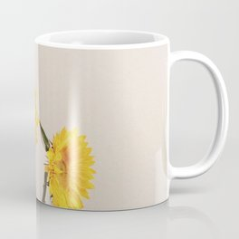 Sunflowers Minimalistic Coffee Mug