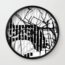 ODD MIKEY Stuff - Abstract Story - Part II Wall Clock