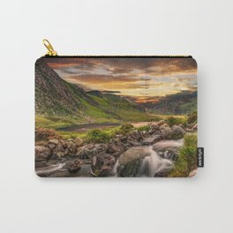 Tryfan and Llyn Ogwen Snowdonia Carry-All Pouch