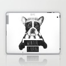 Winter is boring Laptop & iPad Skin
